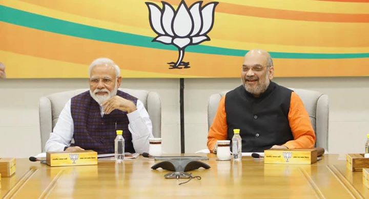 BJP Central Election committee meeting at BJP HQ, New Delhi.‬