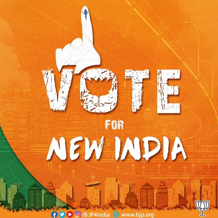 Vote For New India.
