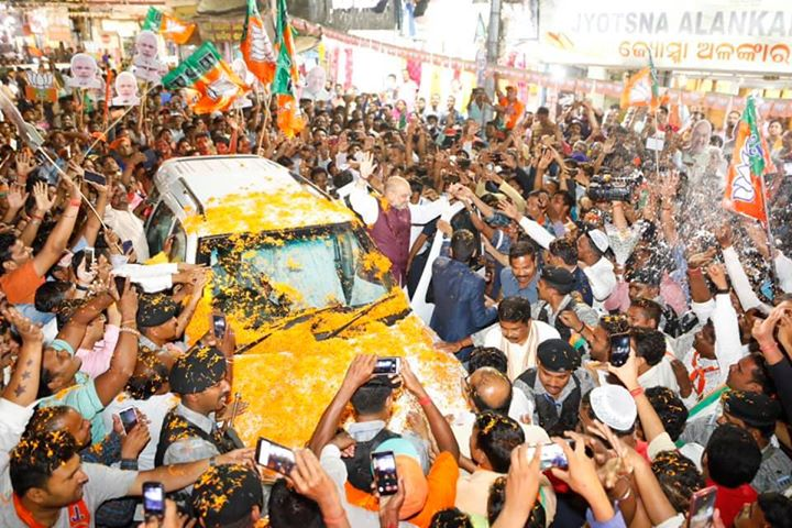 Glimpses from the roadshow in Cuttack, Odisha. #IndiaBoleModiDobara