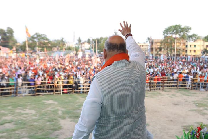 ‪I thank people of West Bengal for the tremendeous affection.‬  ‪Sharing pictures from the public meeting in Bardhaman.‬