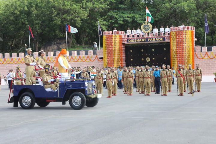 Attended the 'Dikshant Parade' of IPS Probationers at the prestigious Sardar Vallabhbhai Patel National Police Academy, Hyderabad.  I am sure that these officers will do their best to serve our nation and to uphold the dignity of Indian Police Service.  Best wishes to everyone.