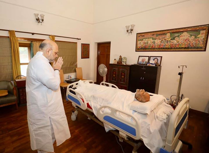 Deeply pained to know about the passing away of India's veteran lawyer and former Union Minister Shri Ram Jethmalani ji. In him we have not only lost a distinguished lawyer but also a great human who was full of life.  Ram Jethmalani ji's passing away is a irreparable loss to the entire legal community. He will always be remembered for his vast knowledge on legal affairs. My condolences to the bereaved family. Om Shanti Shanti Shanti.