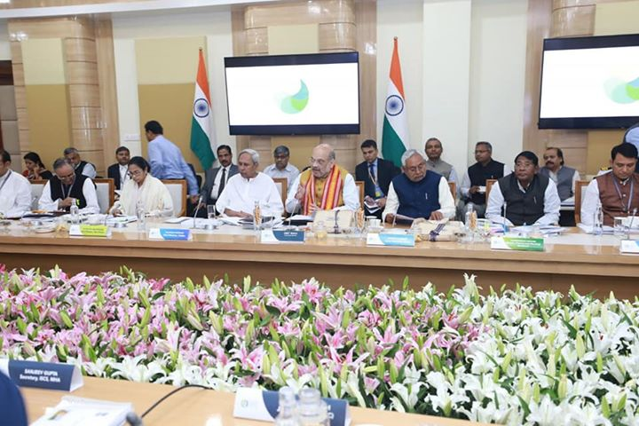 Chaired the 24th meeting of the Eastern Zonal Council today in Bhubaneswar, Odisha.  Meeting was very cordial and fruitful, 40 out of 48 long pending issues were resolved with mutual coordination.