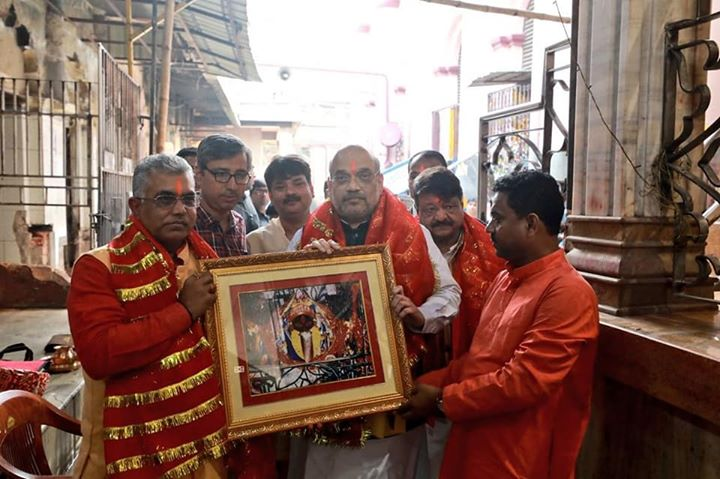 Visited the Kalighat Temple in Kolkata and took blessings of Maa Kali.