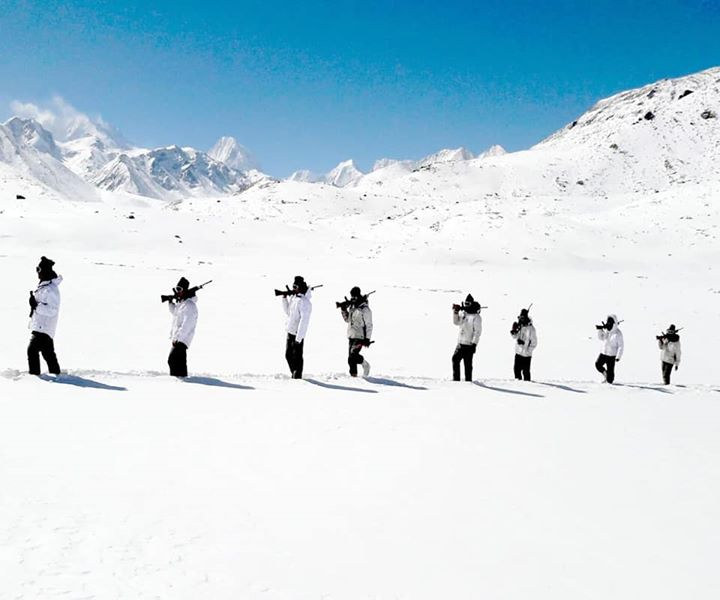 Serving the motherland with great pride at the toughest terrains of the world. The ITBP women are a role model for all. #SheInspiresUs
